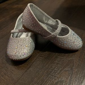 Sparkly toddler shoes, worn once
